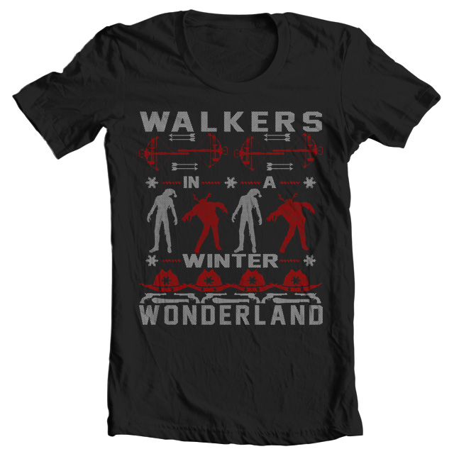 Walking Dead Ugly Christmas Sweater Tshirt – $7.99 ships free with coupon by Jammin Butter