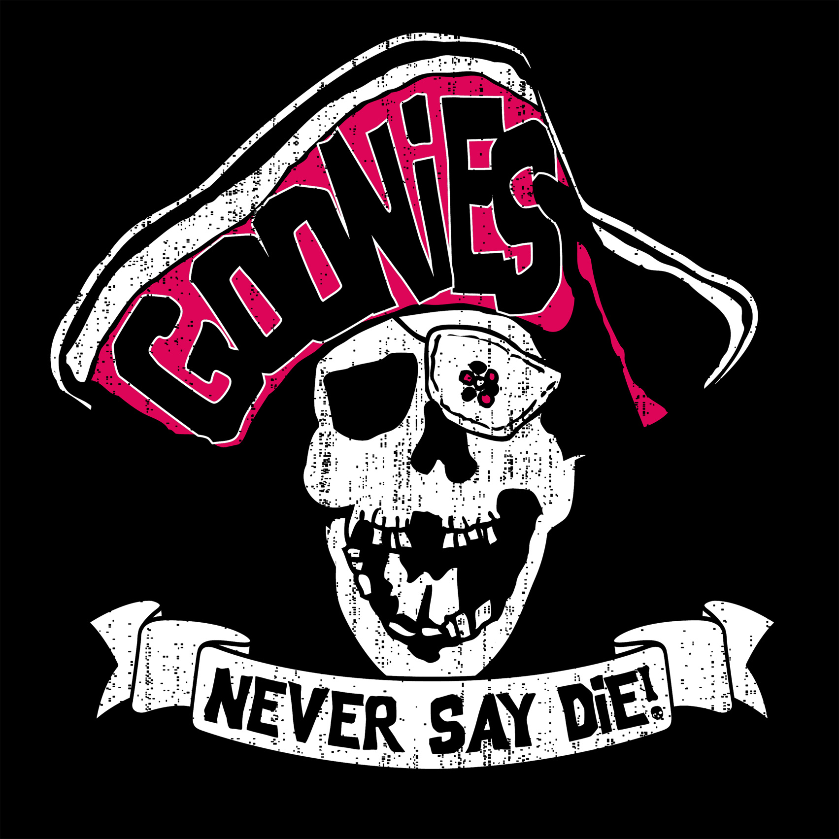 Goonies Never Say Die Decal Or T Shirt Ships Free
