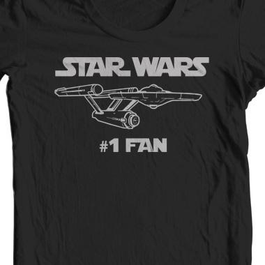 star wars 1 fan t shirt ships free. Black Bedroom Furniture Sets. Home Design Ideas